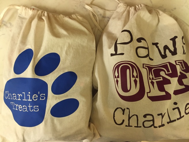 Personalised pet bags