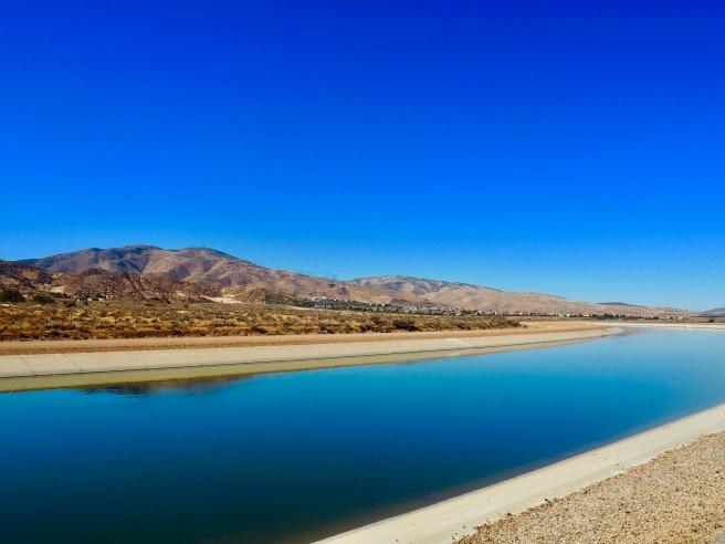California Aqueduct, Palmdale